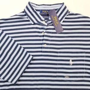 Polo Ralph Lauren Blue Stripe Polo Shirt